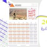 Pasidaryk kalendorių pats | maketas 2013