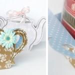 Rankų darbo dovana – arbatos dėžutė