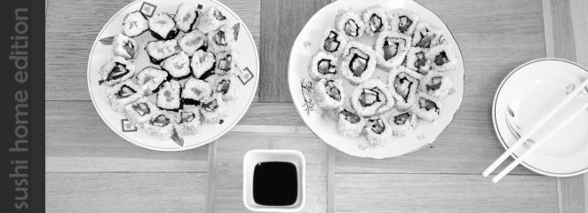 sushi gaminimas namuose