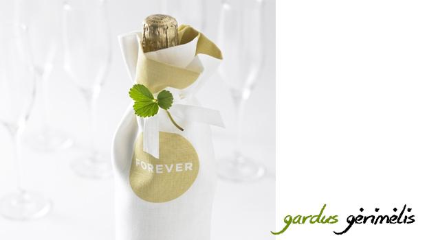 vestuviu dovana butelis