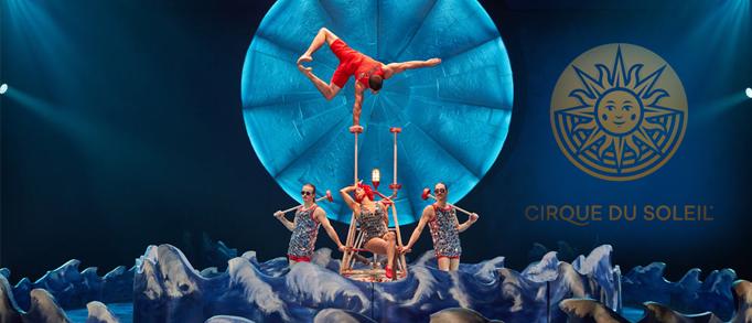 Cirque du Soleil pasirodymas